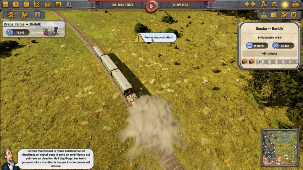 Railway Empire : Panne